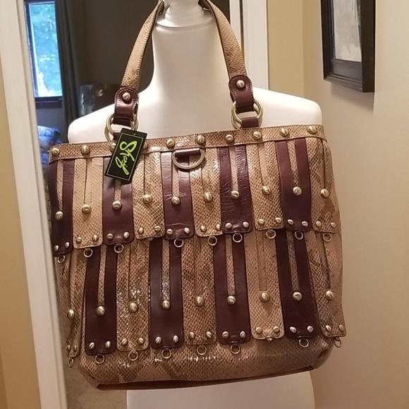 Sharif studio shoulder bag NWT